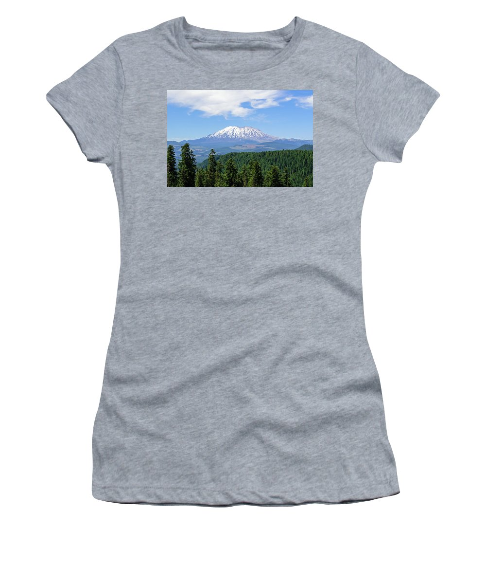 Nature Women's T-Shirt featuring the photograph The Back Side Of Helens by Tikvah's Hope