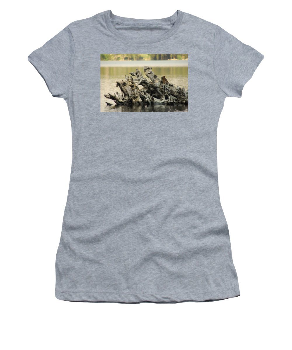 Nature Women's T-Shirt (Athletic Fit) featuring the photograph The Dead Shall Rise by Donna Blackhall