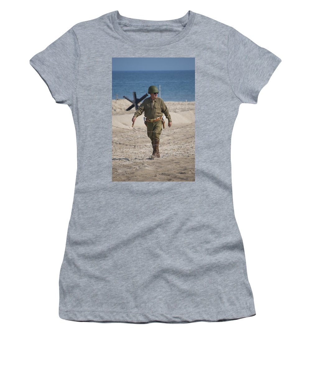 General Women's T-Shirt featuring the photograph The General by Thomas Woolworth