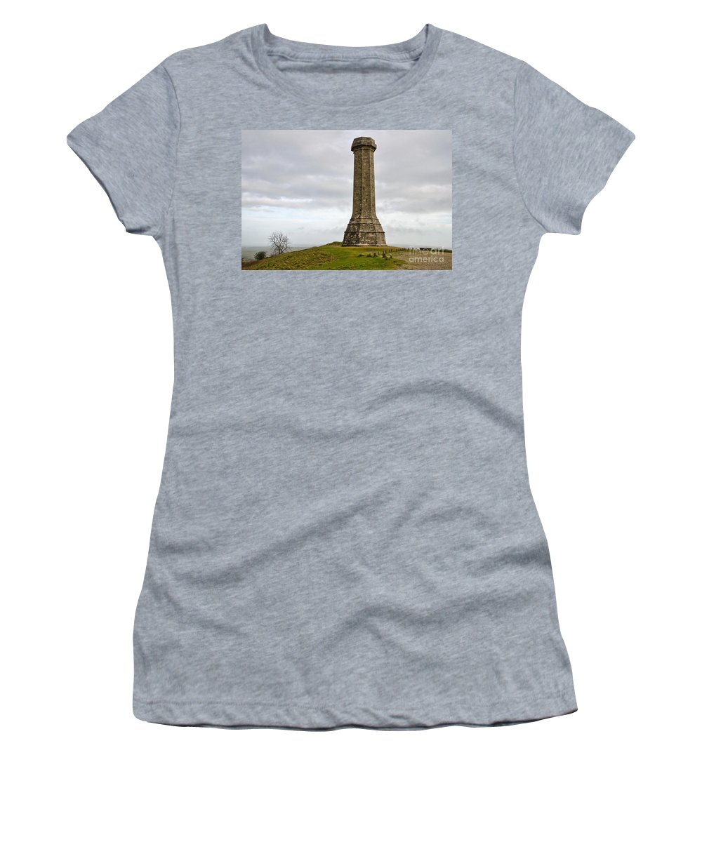 Hardy Women's T-Shirt (Athletic Fit) featuring the photograph The Hardy Monument 2 by Susie Peek