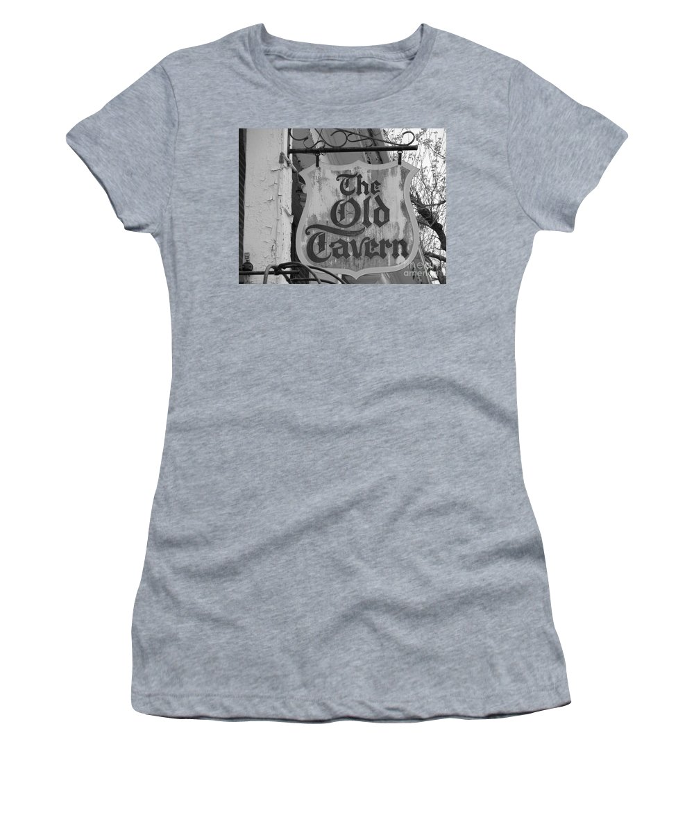 Old Tavern Women's T-Shirt featuring the photograph The Old Tavern by Michael Krek