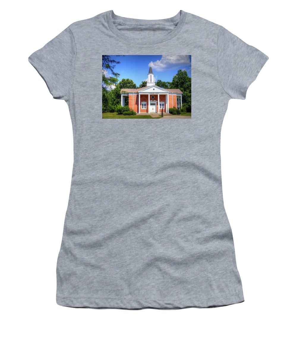thurmond Chapel Women's T-Shirt featuring the photograph Thurmond Chapel by Cricket Hackmann