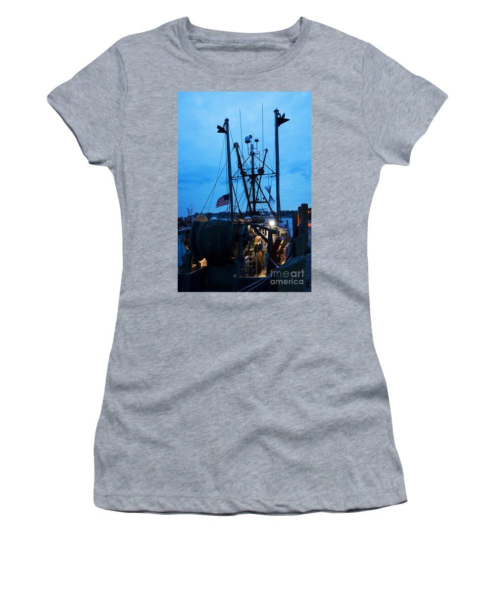 Commercial Women's T-Shirt featuring the photograph Till It's Done by Joe Geraci