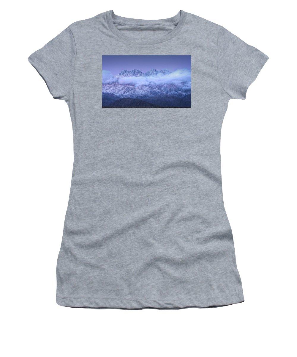 Twilight Women's T-Shirt featuring the photograph Twilight by Saija Lehtonen
