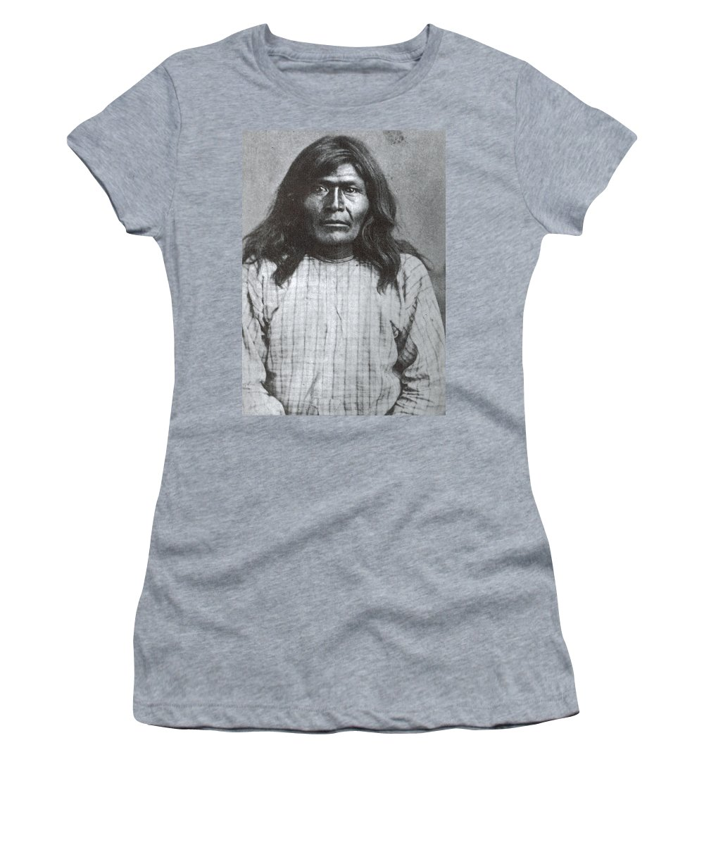 1877 Women's T-Shirt (Athletic Fit) featuring the photograph Victorio (1825-1880) by Granger