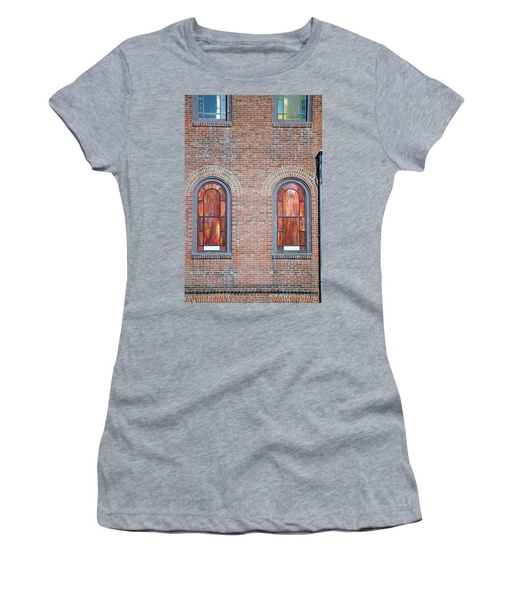 Windows Women's T-Shirt featuring the photograph Vindauga by Sonali Gangane