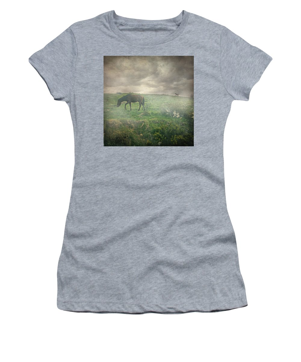 Landscape Women's T-Shirt featuring the photograph Wake Me Up by Zapista