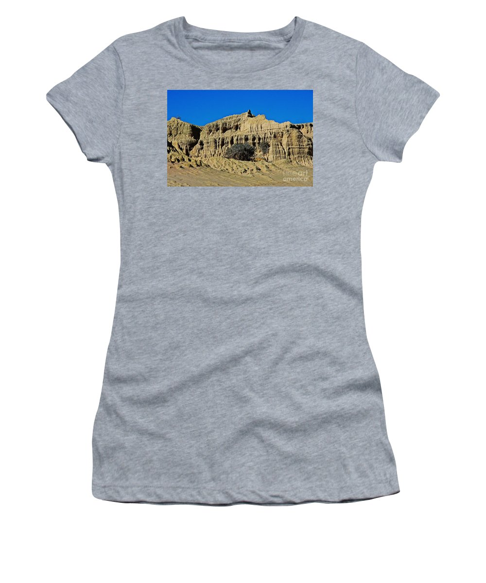 Walls Of China Women's T-Shirt featuring the photograph Walls Of China by Blair Stuart