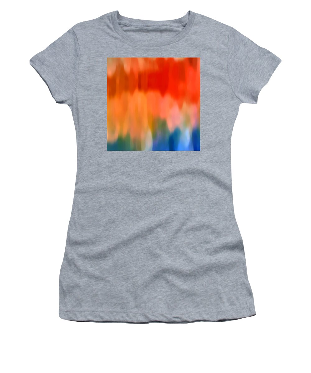 Watercolor Women's T-Shirt featuring the painting Watercolor 1 by Amy Vangsgard