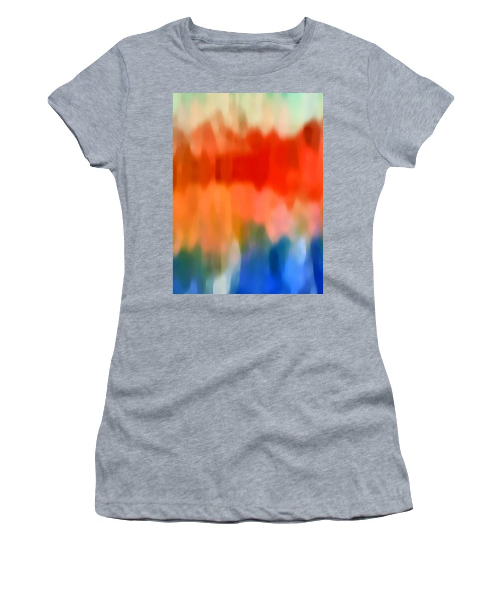 Watercolor Women's T-Shirt featuring the painting Watercolor 5 by Amy Vangsgard