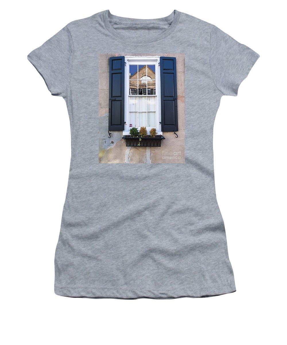 Window Women's T-Shirt featuring the photograph Window X by Bruce Bain