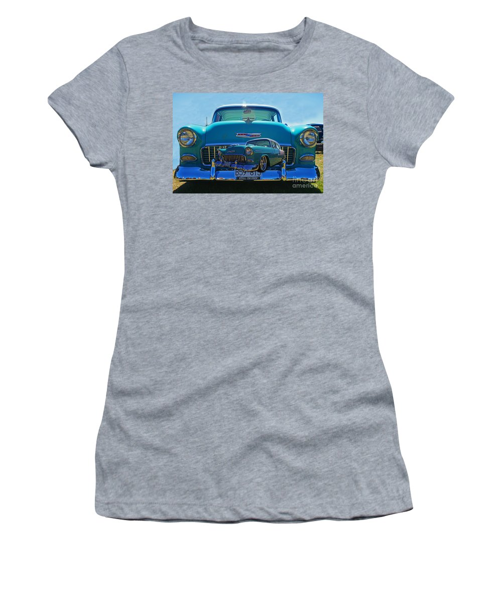 Cars Women's T-Shirt (Athletic Fit) featuring the photograph Cadp0738-12 by Randy Harris