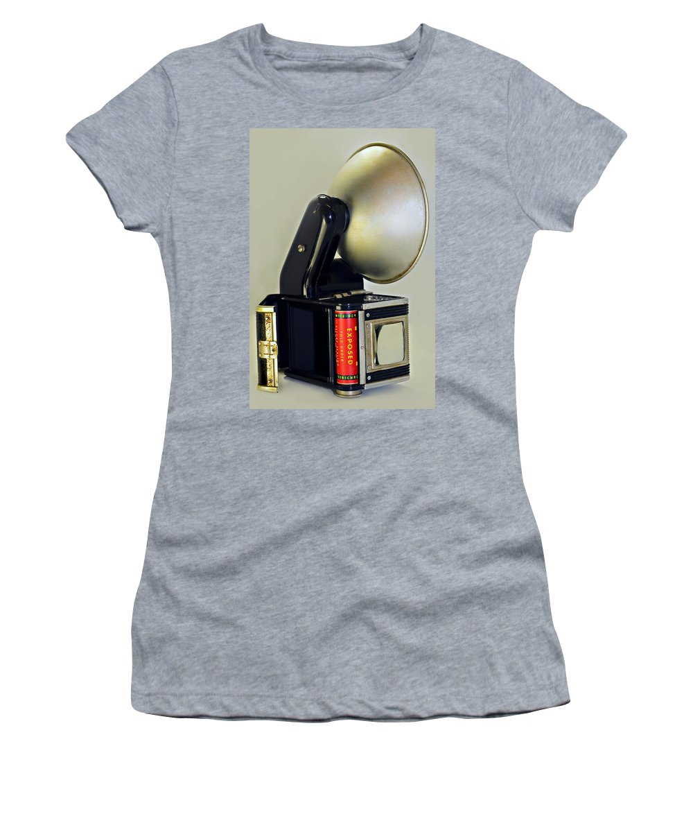 Antique Women's T-Shirt (Athletic Fit) featuring the photograph Exposed by Susan Leggett