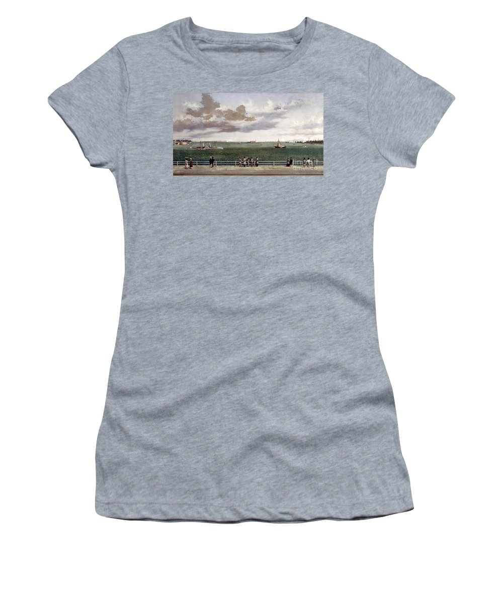 1861 Women's T-Shirt featuring the photograph Fort Sumter, 1861 by Granger