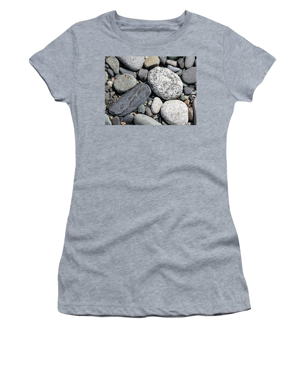 Rocks Women's T-Shirt featuring the photograph Healing Stones by Cathie Douglas