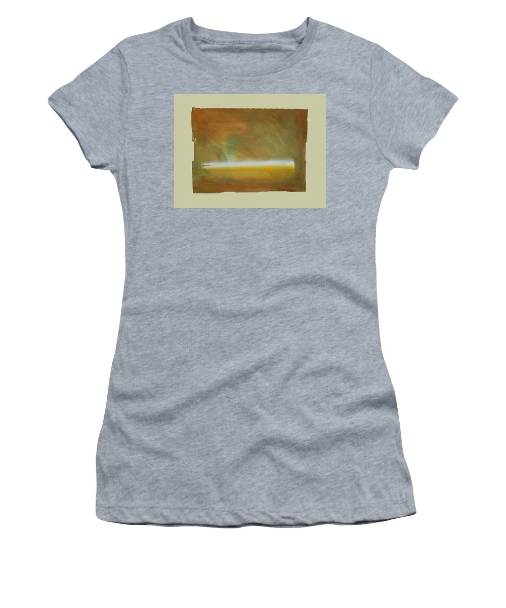 Tsunami Women's T-Shirt featuring the painting Turner Tide by Charles Stuart