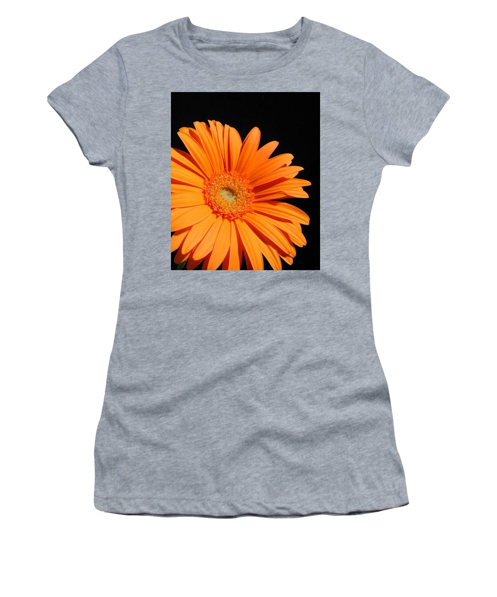 Gerbera Photographs Women's T-Shirt (Athletic Fit) featuring the photograph 1102c by Kimberlie Gerner