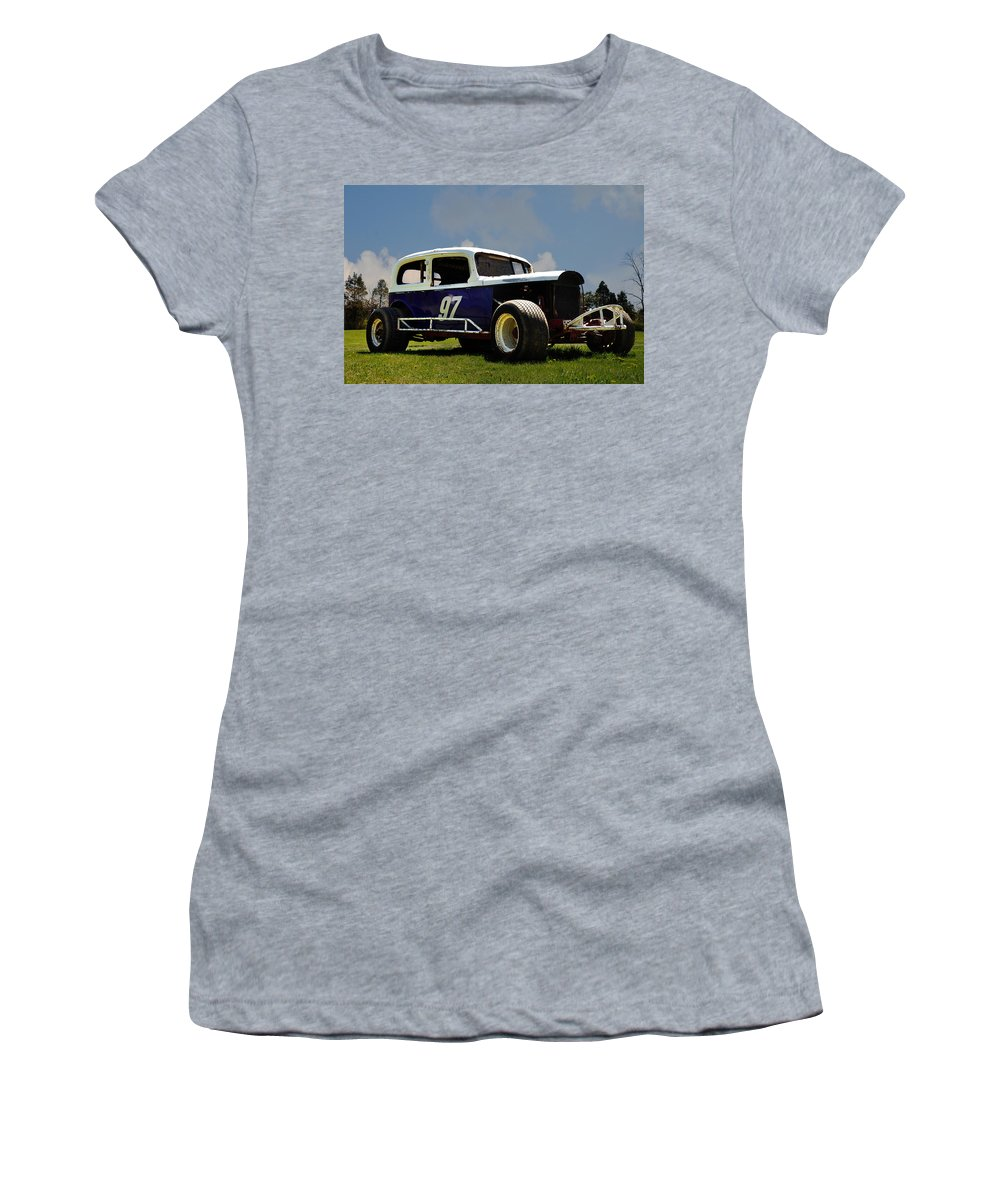 1934 Ford Stock Car Women's T-Shirt featuring the photograph 1934 Ford Stock Car by Bill Cannon