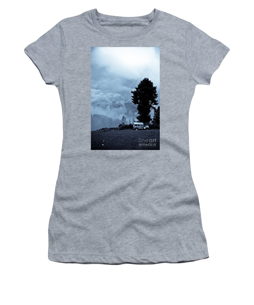 Travel Women's T-Shirt featuring the photograph A Dreamlike View by Syed Aqueel