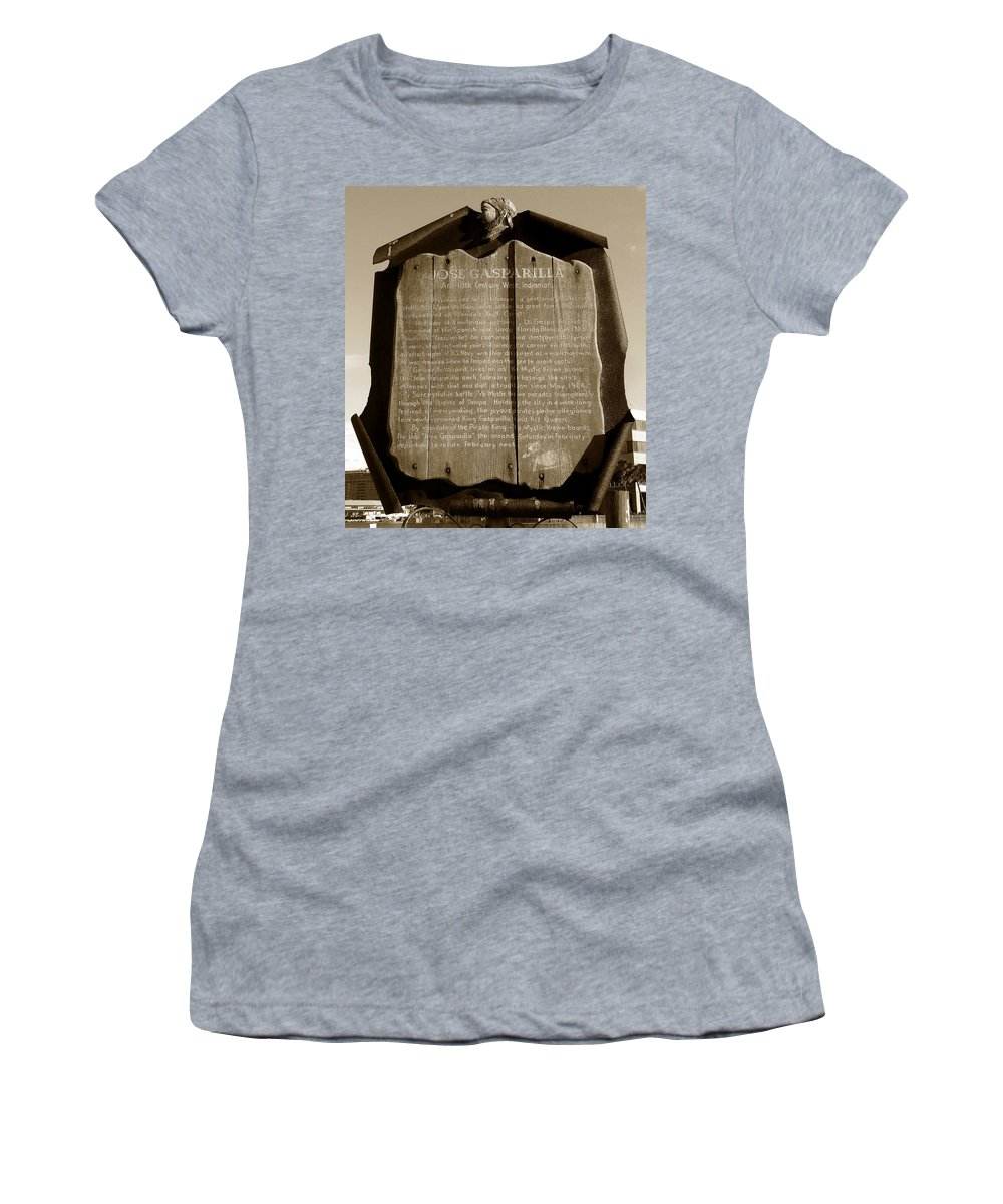 Fine Art Photography Women's T-Shirt featuring the photograph A West Indiaman by David Lee Thompson