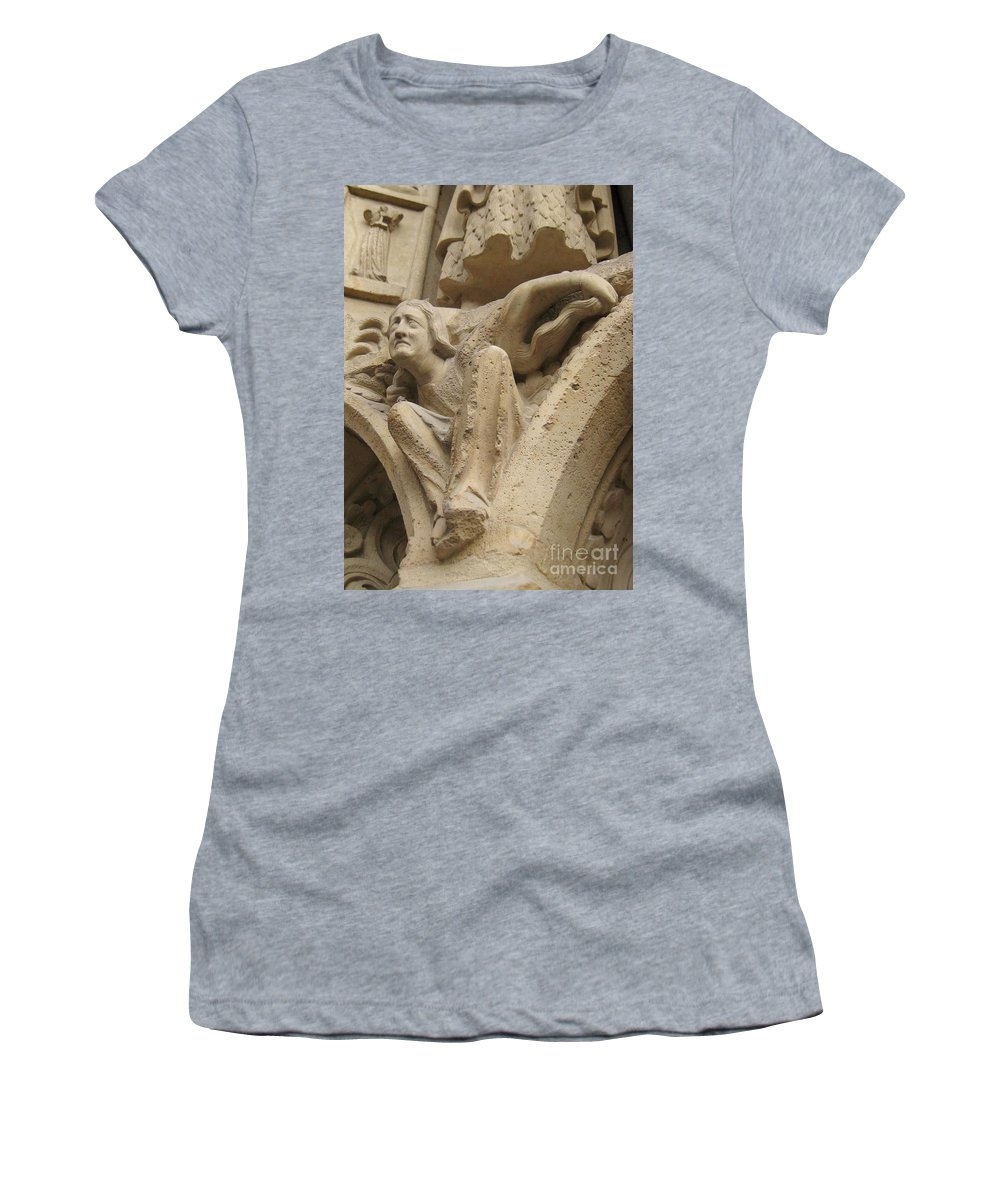 Devil Women's T-Shirt featuring the photograph Burden Two by John Malone