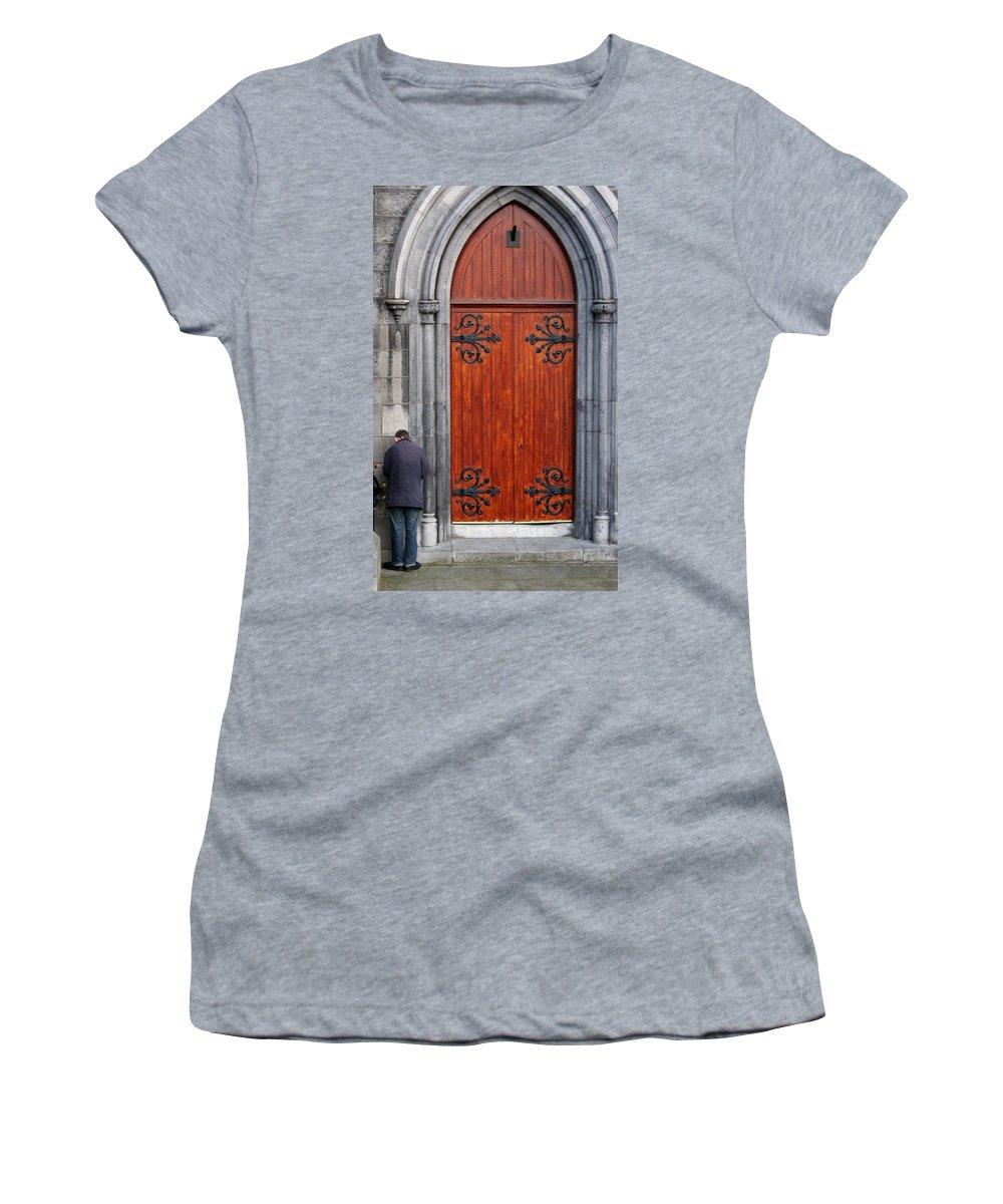 Dublin Women's T-Shirt featuring the photograph City 0025 by Carol Ann Thomas