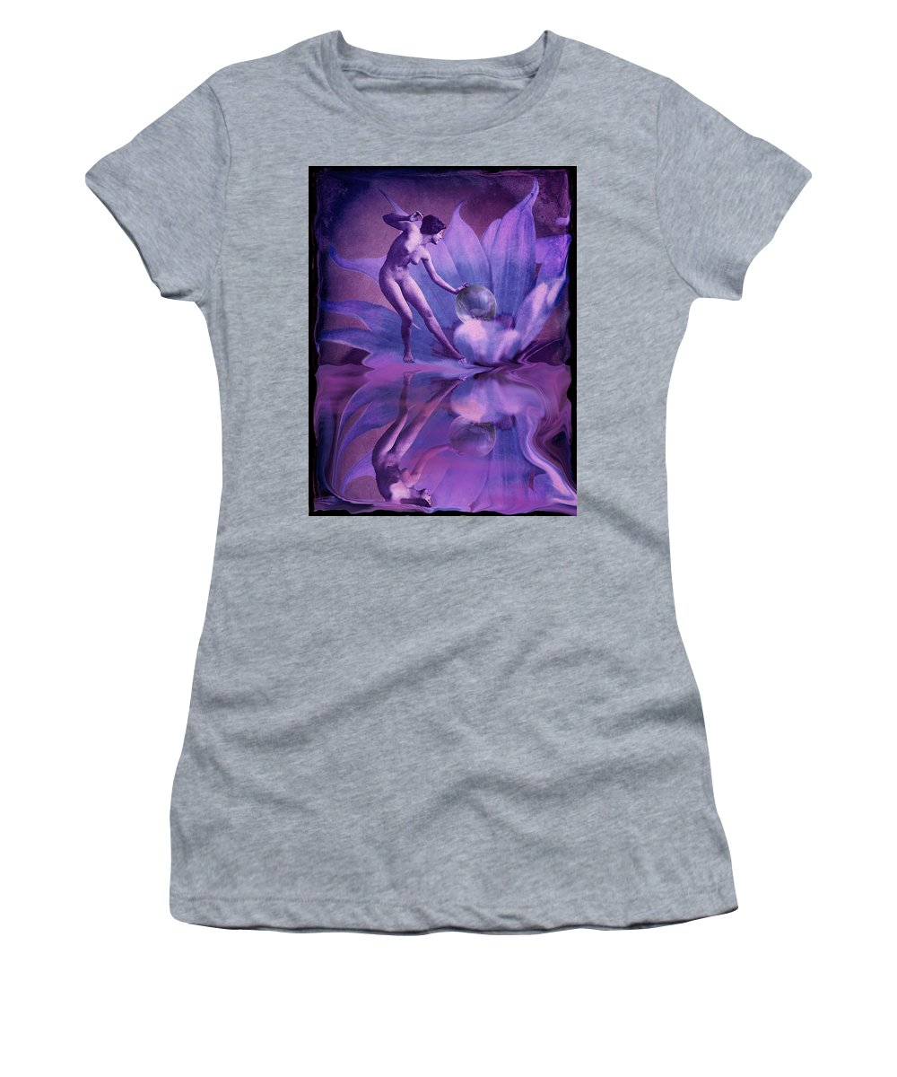 Nspirational Women's T-Shirt (Athletic Fit) featuring the photograph Dardanella by Arthur Miller