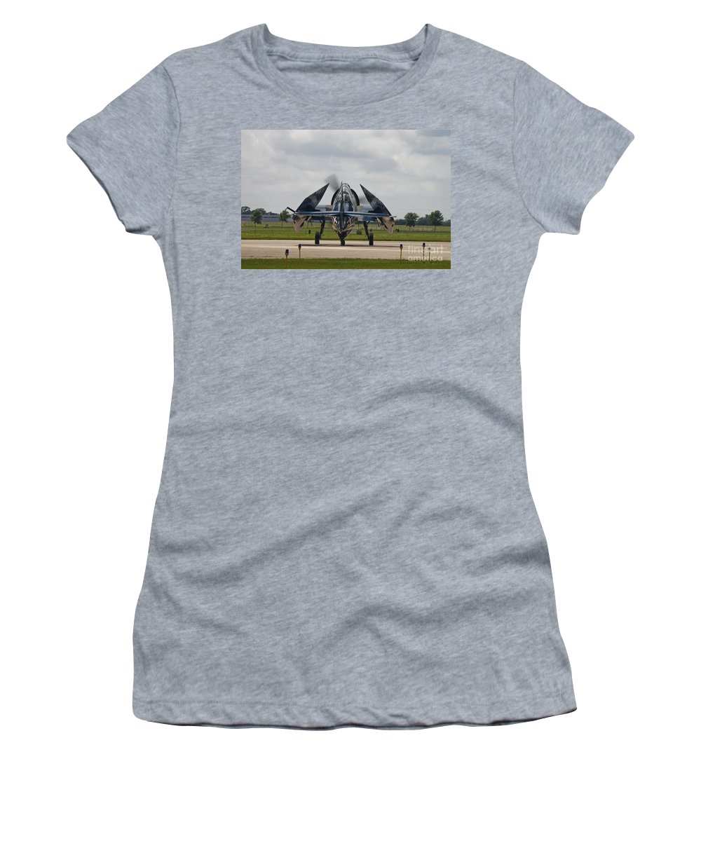 Tbm Women's T-Shirt featuring the photograph Folded Wings by Tim Mulina