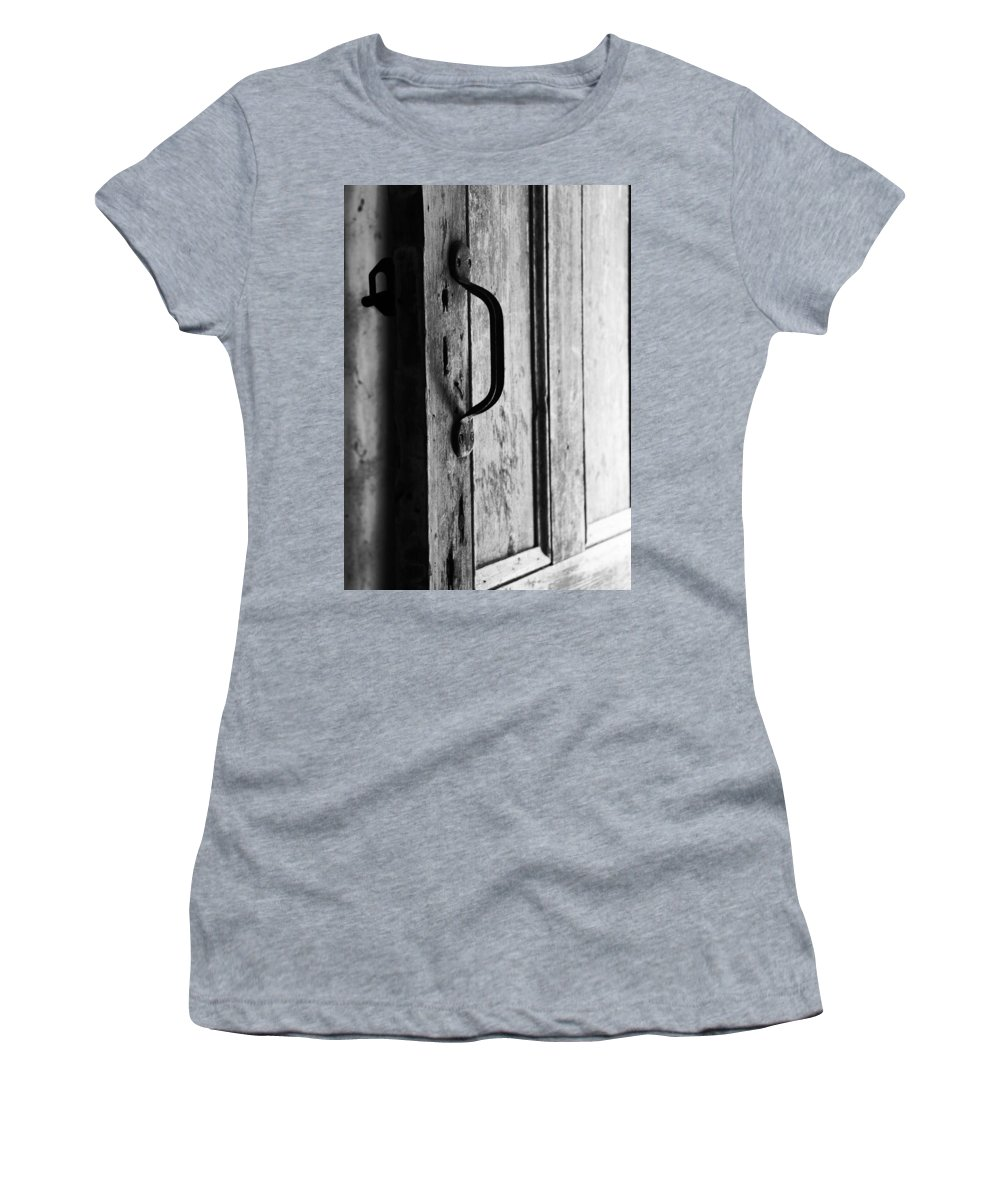 Handle Women's T-Shirt (Athletic Fit) featuring the photograph Handle It by Phil Cappiali Jr