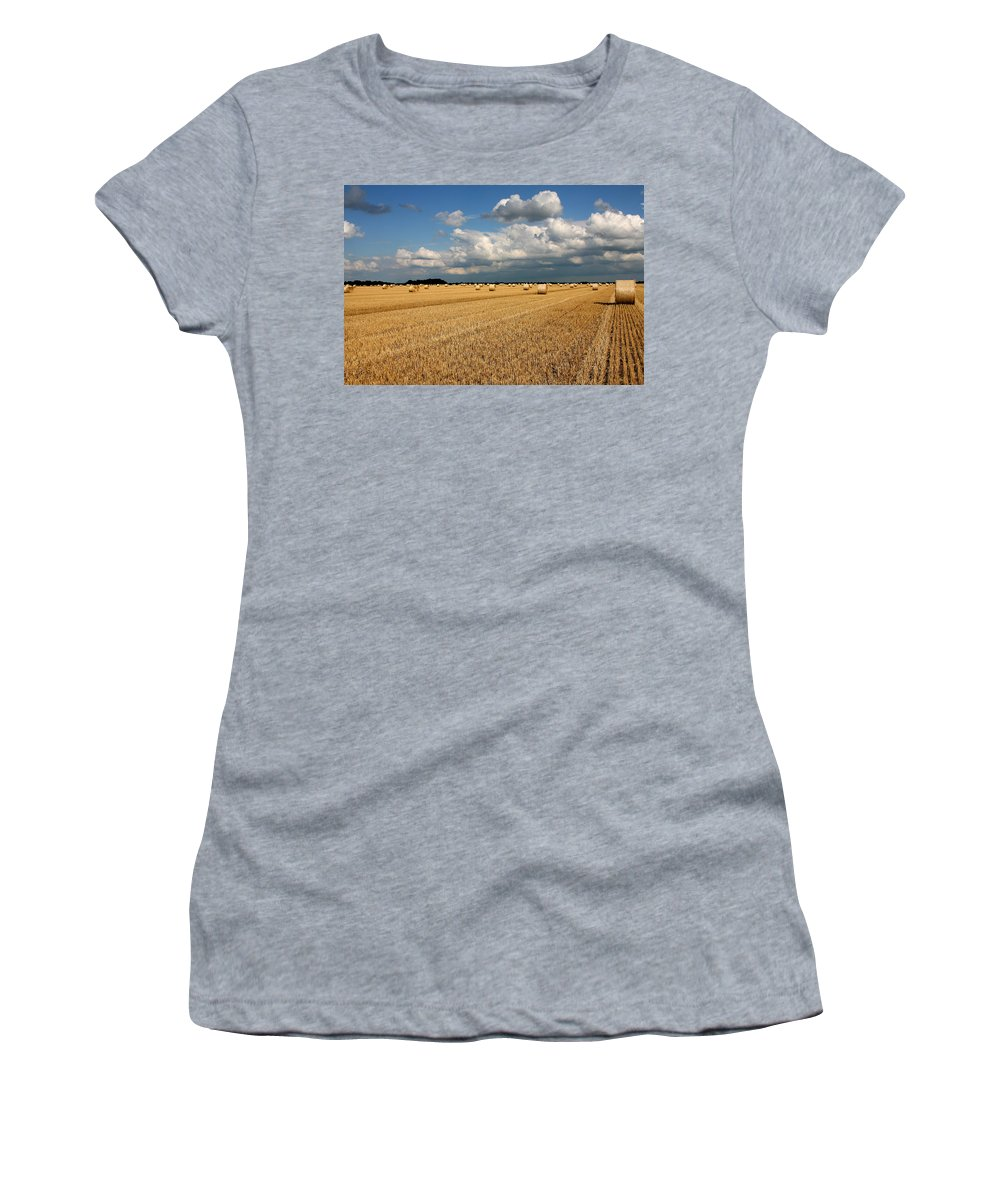 Harvest Women's T-Shirt featuring the photograph Harvest by Ralf Kaiser