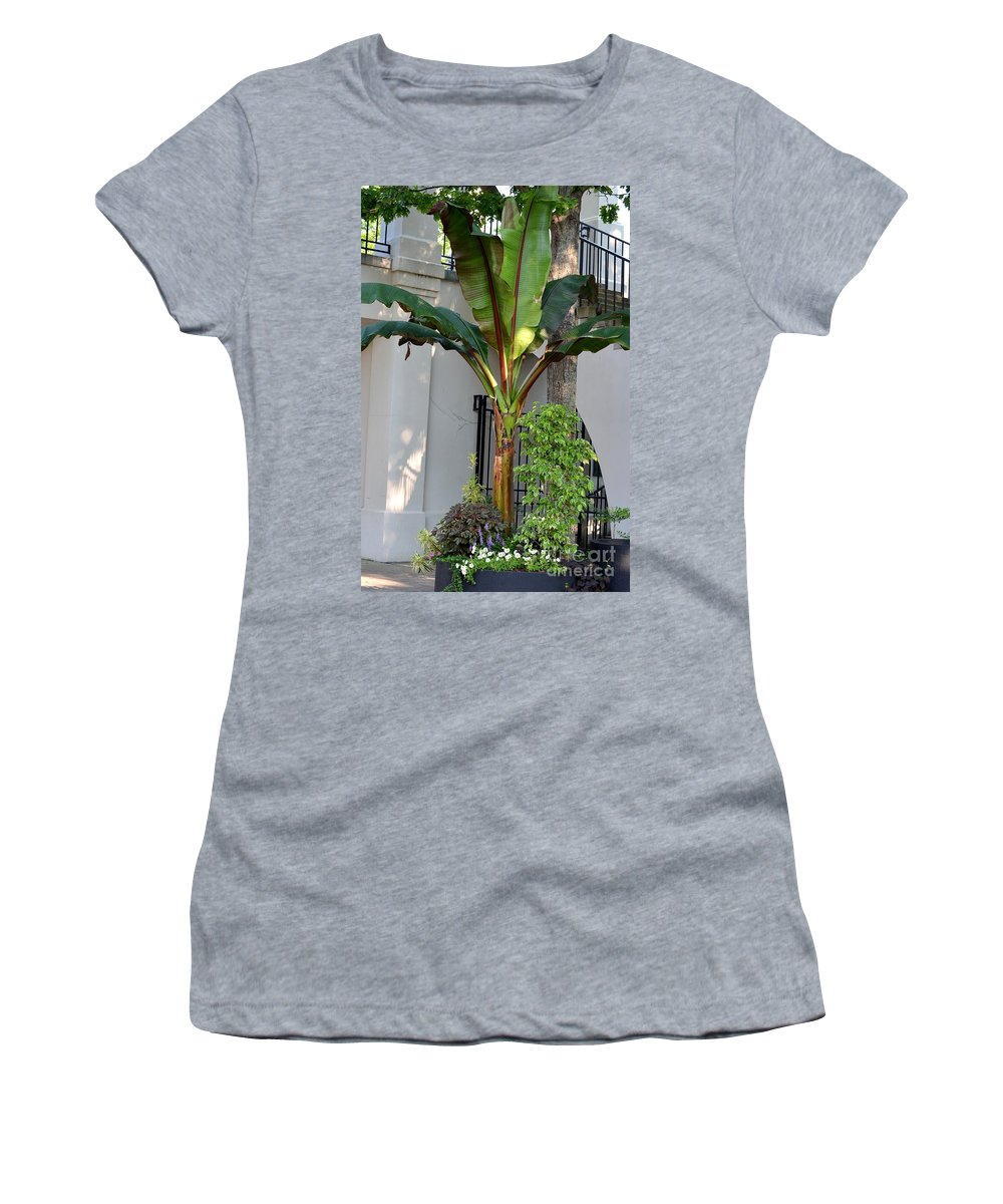 Hacienda Women's T-Shirt featuring the photograph La Hacienda by Maria Urso