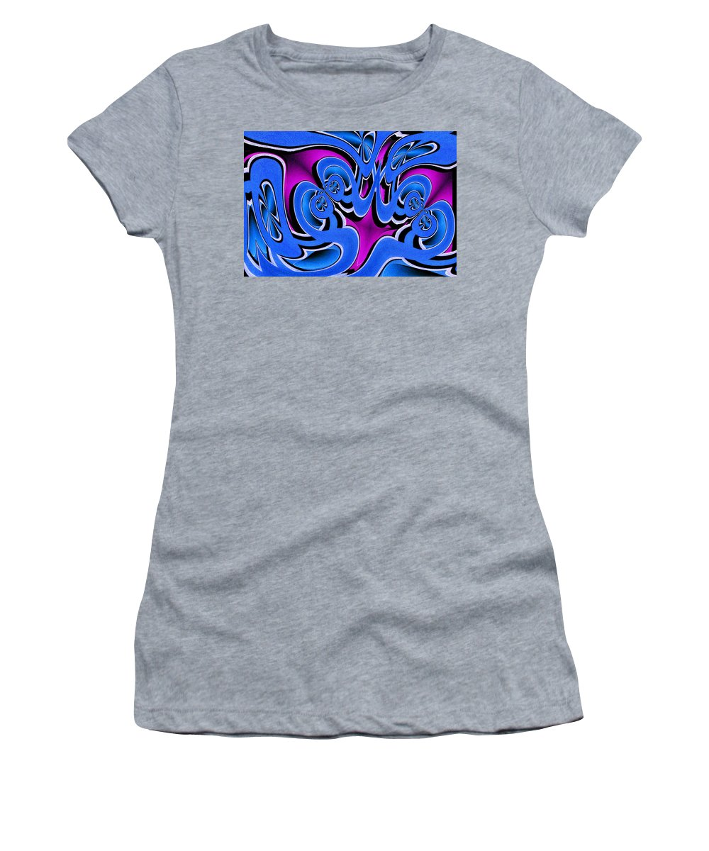 Photography Photographs Women's T-Shirt (Athletic Fit) featuring the photograph Laugh by Paul Wear