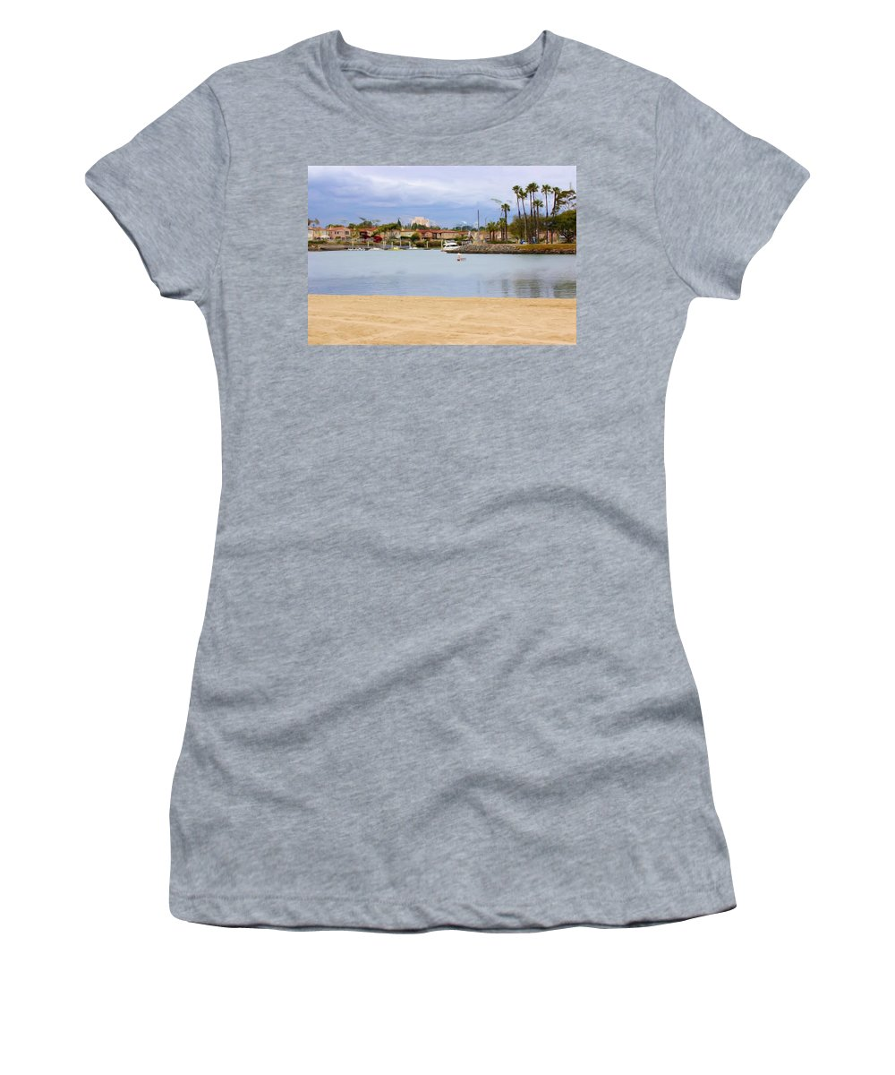 Women's T-Shirt (Athletic Fit) featuring the photograph Life Is Good by Heidi Smith