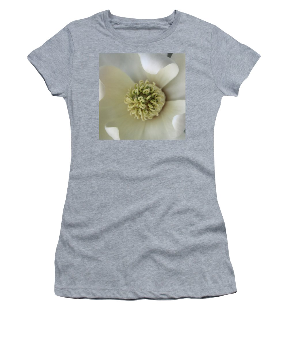 Magnolia Women's T-Shirt featuring the photograph Magnolia by Carolyn Stagger Cokley