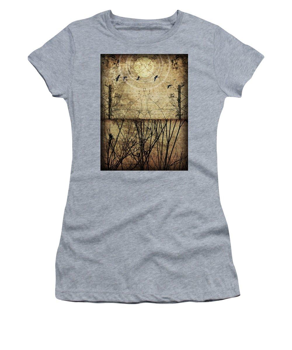 Art Women's T-Shirt featuring the photograph Migration by Jay Hooker