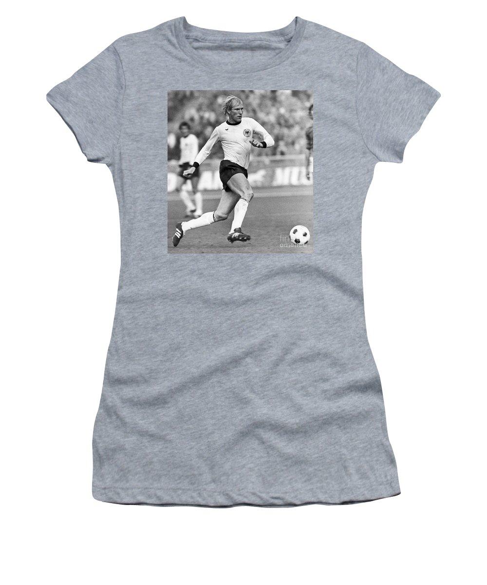 1977 Women's T-Shirt featuring the photograph Rolf R�ssmann (1950-2009) by Granger