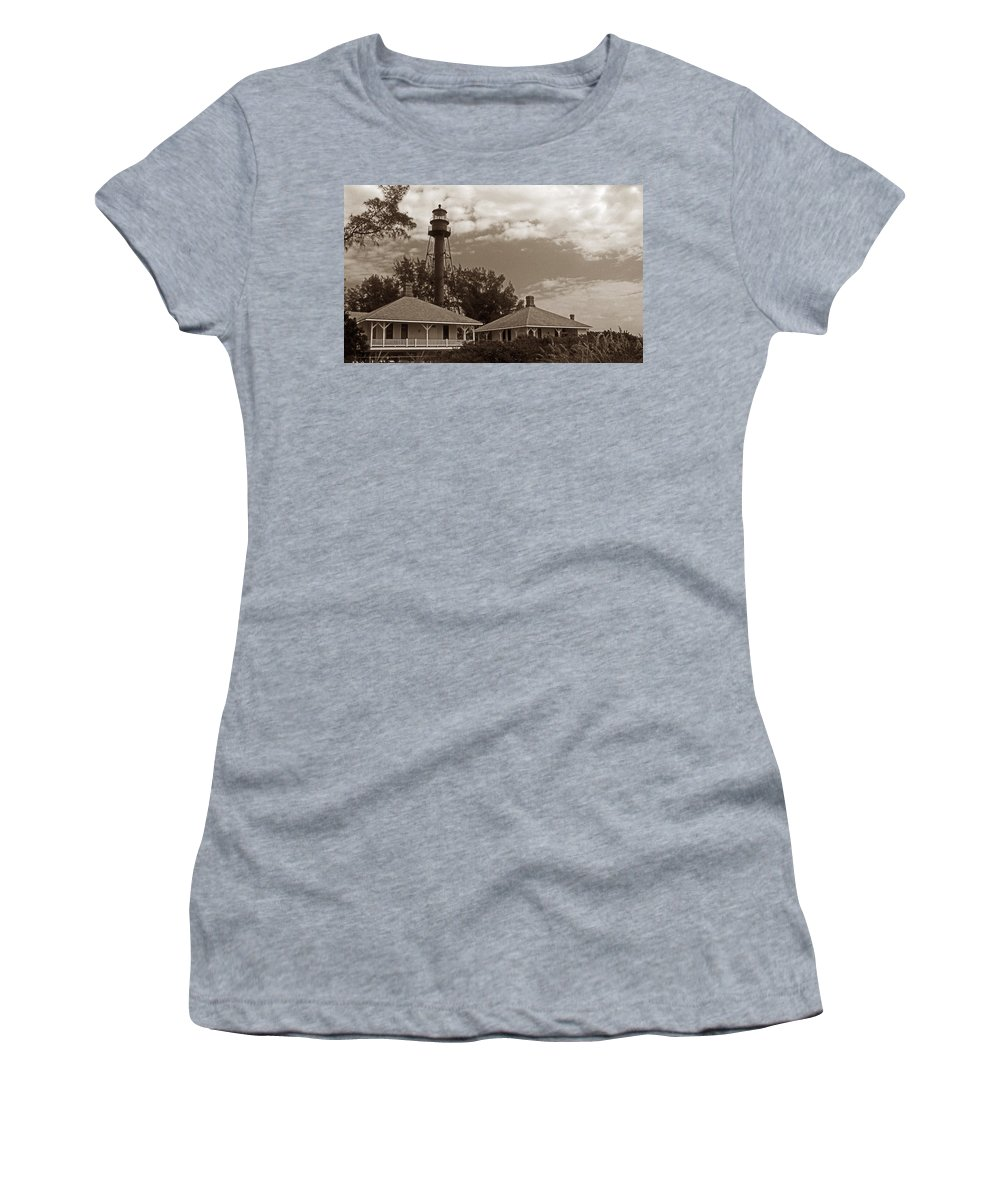 Fl Women's T-Shirt (Athletic Fit) featuring the photograph Sanibel Island by Skip Willits