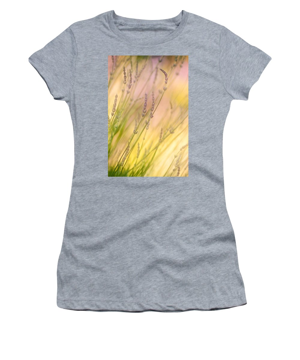 Lavender Women's T-Shirt featuring the photograph Summer Daydream by Bobbie Climer