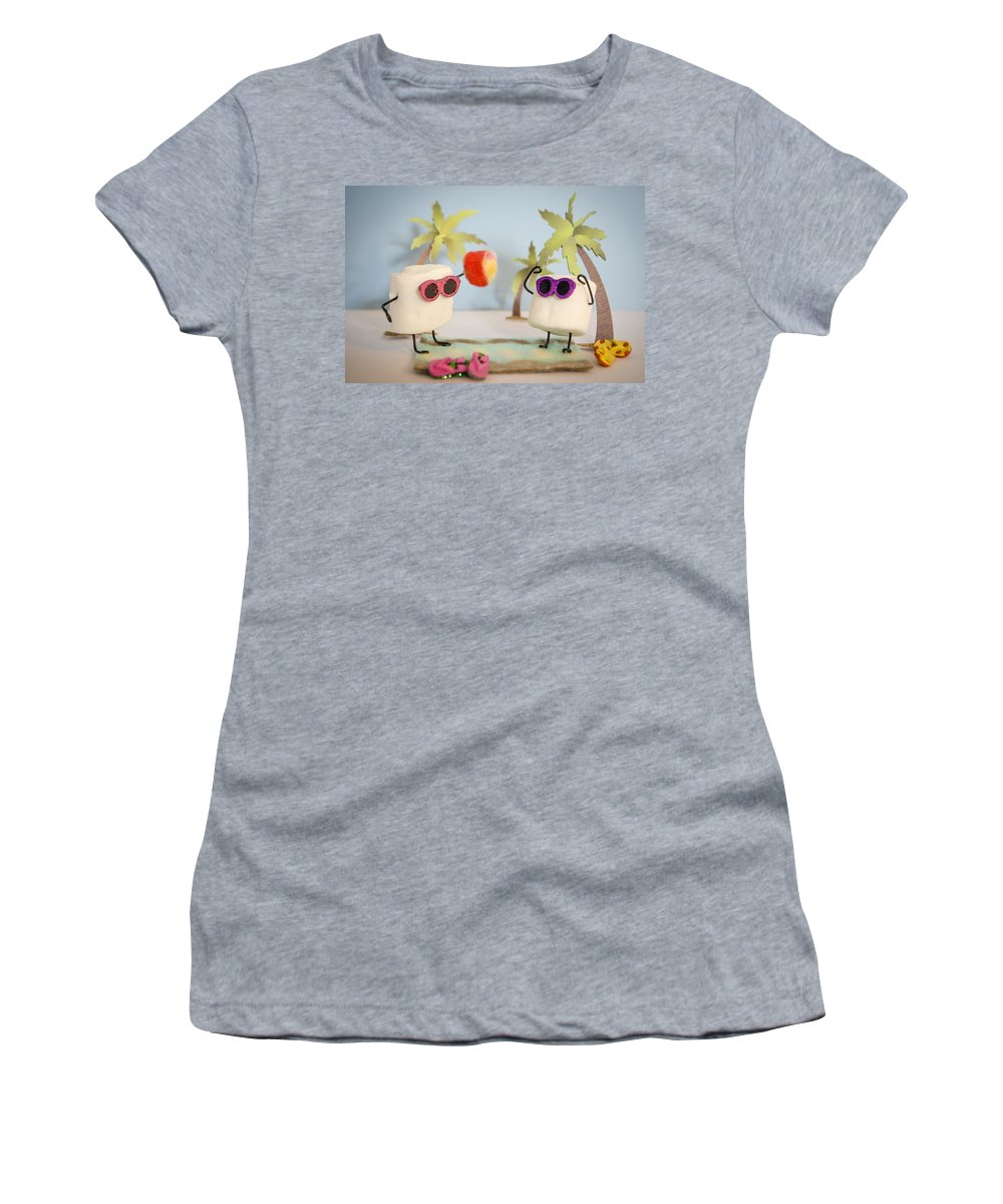 Vacation Women's T-Shirt featuring the photograph Sweet Vacation by Heather Applegate