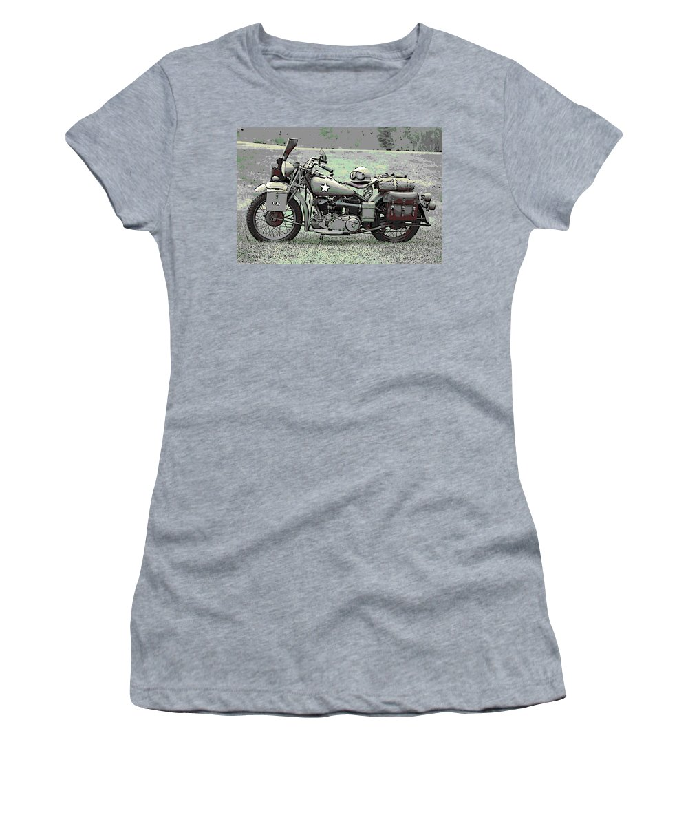 Vintage Women's T-Shirt featuring the photograph Vintage Iron by George Pedro