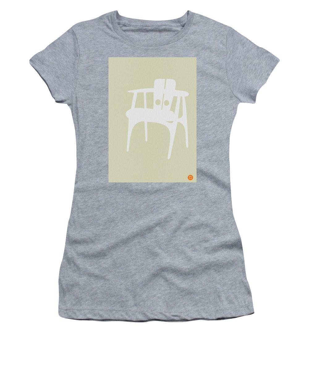 Chair Women's T-Shirt featuring the photograph Wooden Chair by Naxart Studio