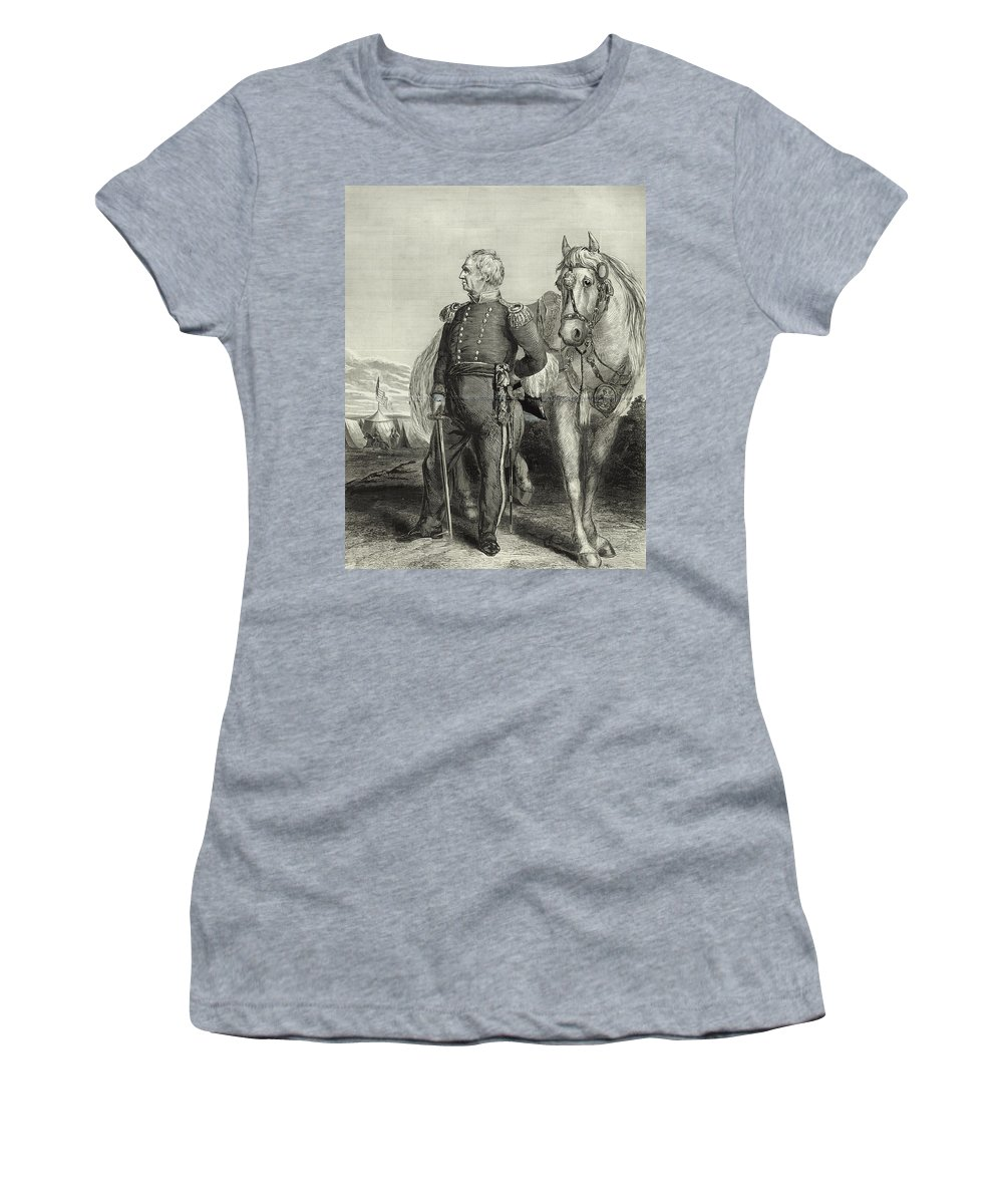 zachary Taylor Women's T-Shirt featuring the photograph Zachary Taylor by International Images