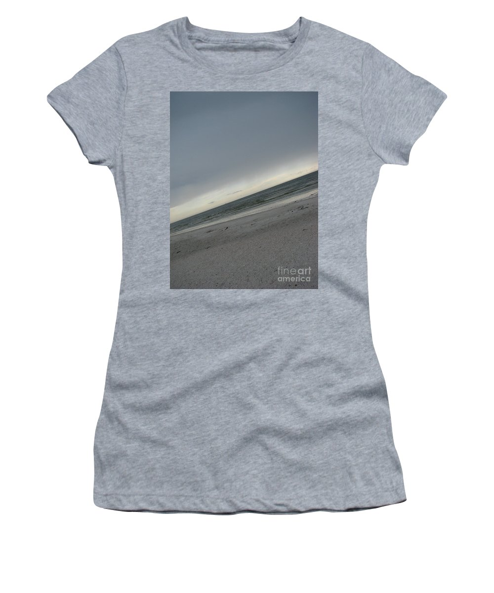 Ocean Women's T-Shirt (Athletic Fit) featuring the photograph Abstract Sea by Amanda Barcon