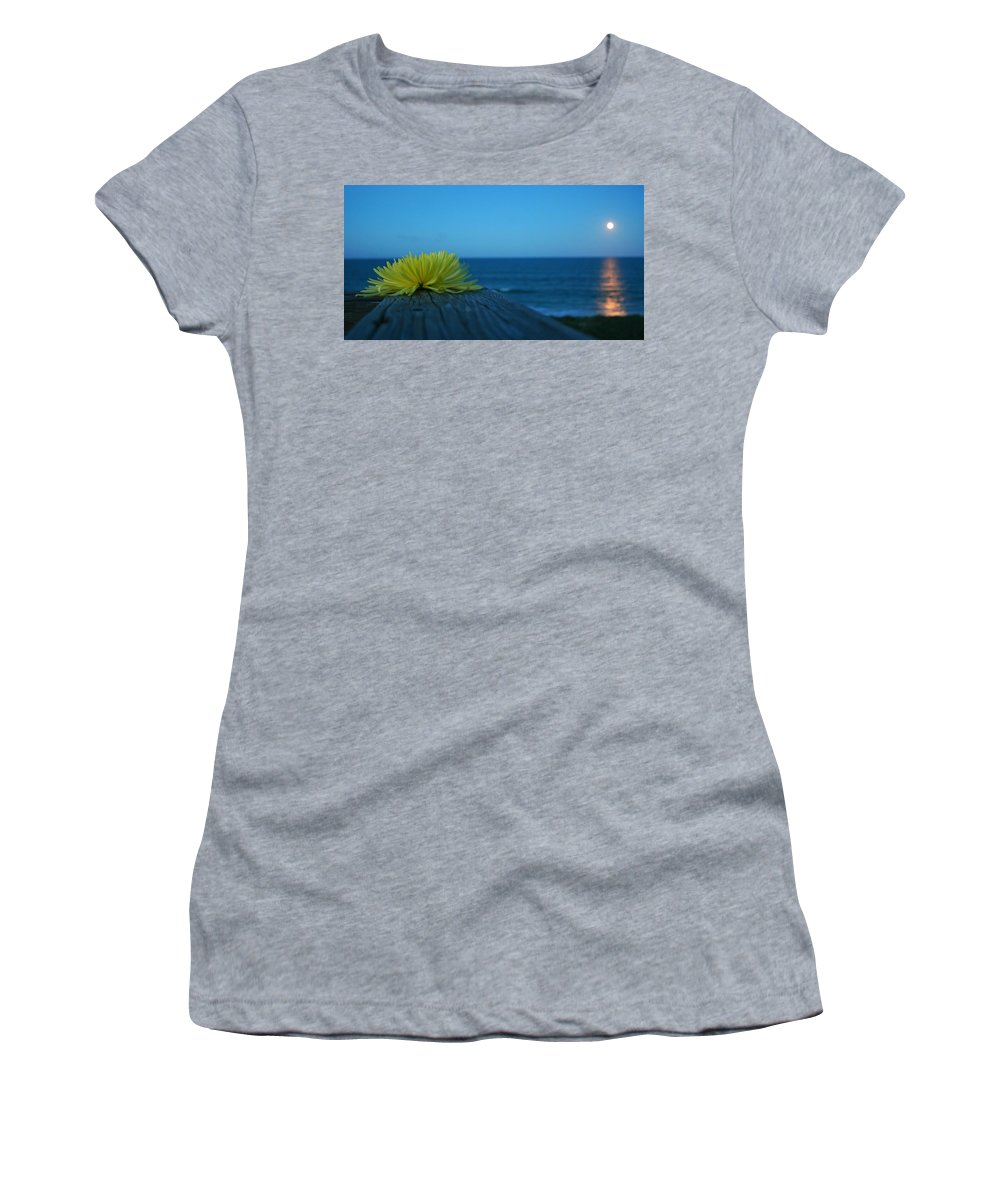 Ocean Women's T-Shirt (Athletic Fit) featuring the photograph Decked Out by Phil Cappiali Jr