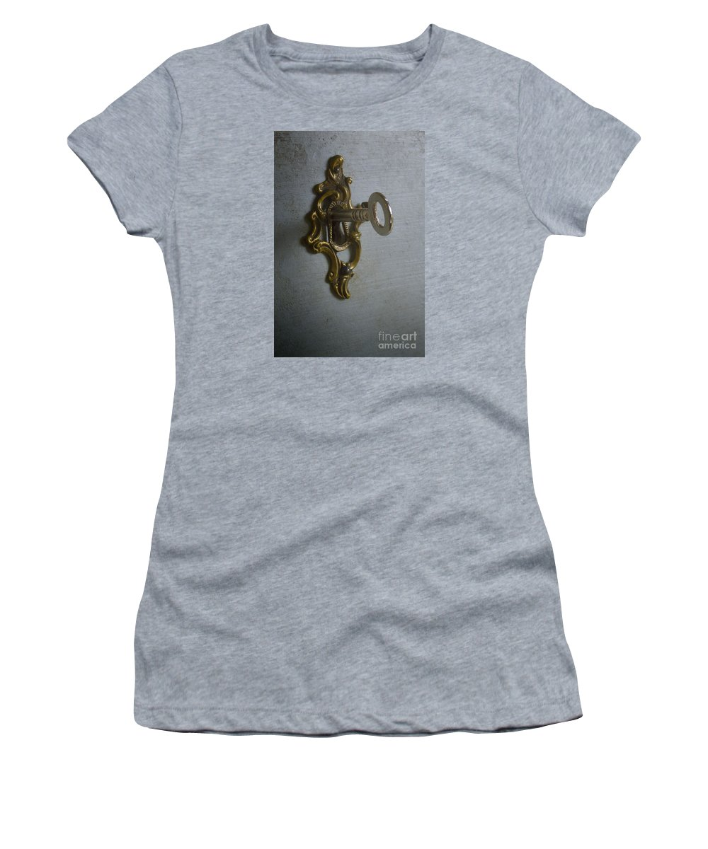 Key Women's T-Shirt (Athletic Fit) featuring the photograph Key by Margie Hurwich