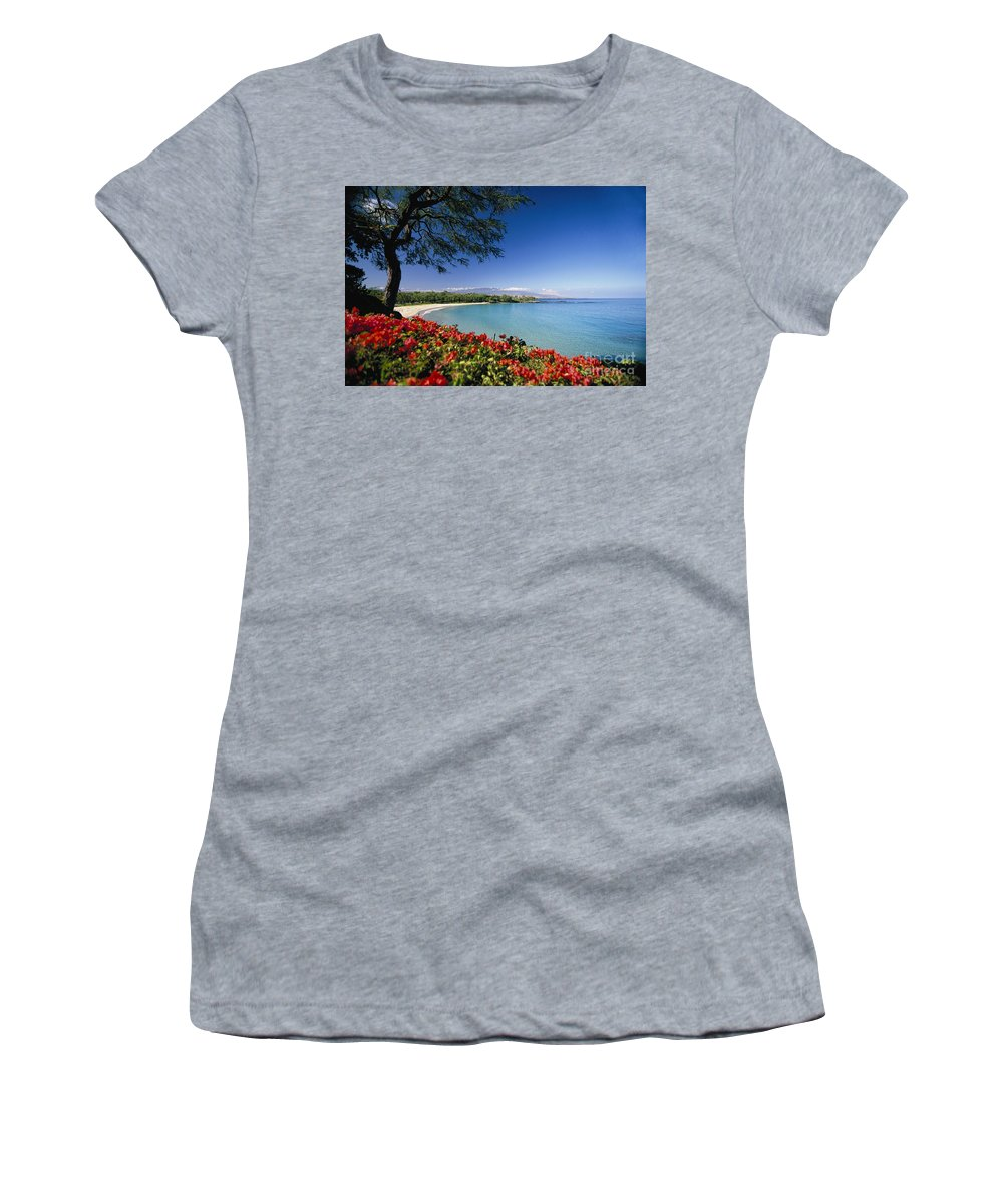 Afternoon Women's T-Shirt featuring the photograph Mauna Kea Beach by Dana Edmunds - Printscapes