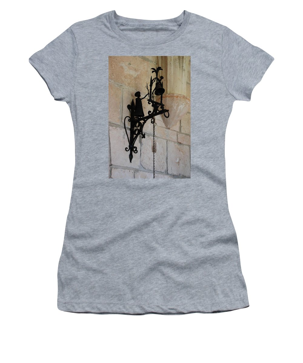 Architecture Women's T-Shirt (Athletic Fit) featuring the photograph Miami Monastery Bell by Rob Hans