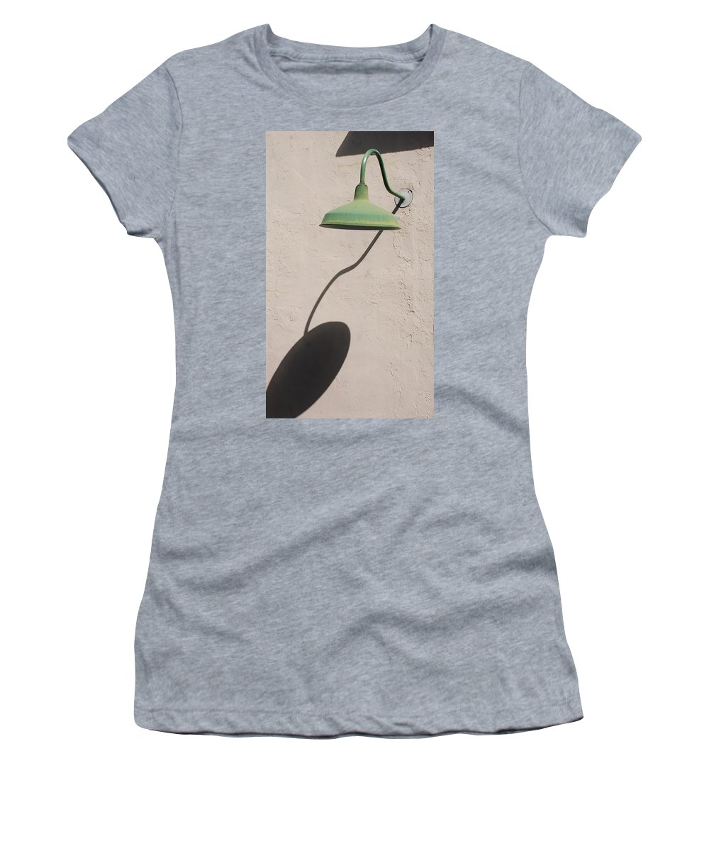 Art Women's T-Shirt featuring the photograph Shadow Lamp by Rob Hans