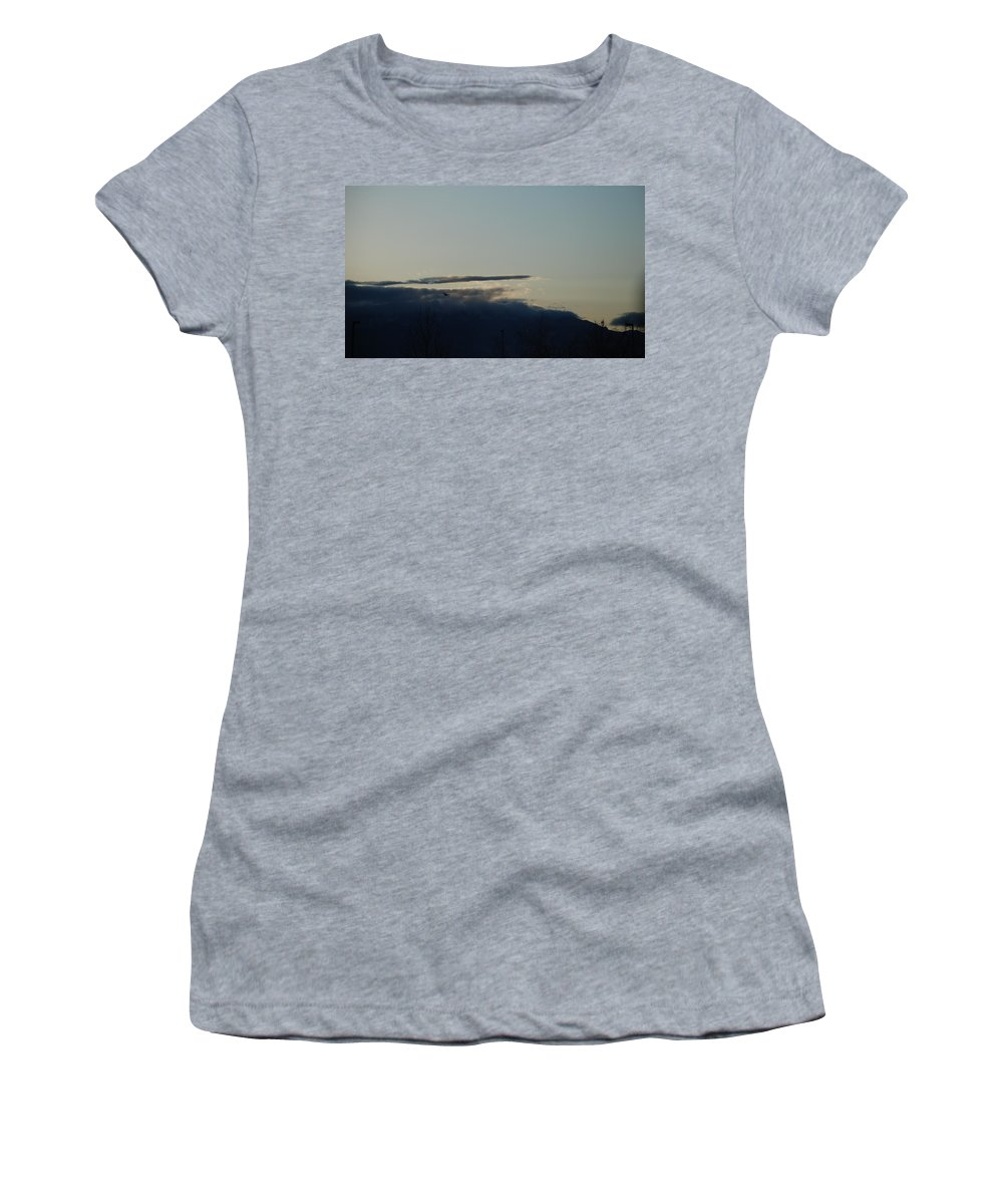 Sunrise Women's T-Shirt featuring the photograph Sunrise Over The Sandias by Rob Hans