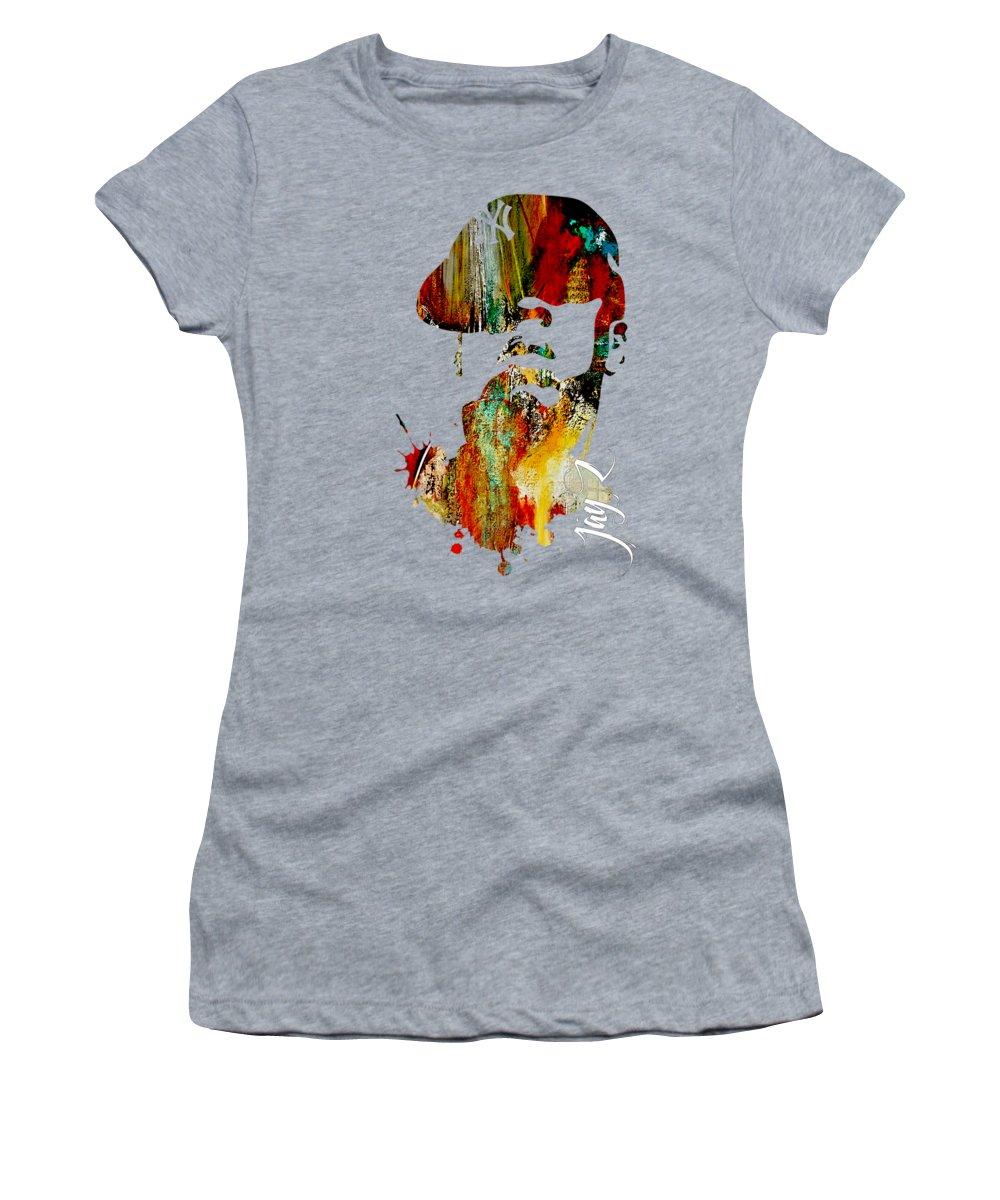Jay Z Mixed Media Women's T-Shirts